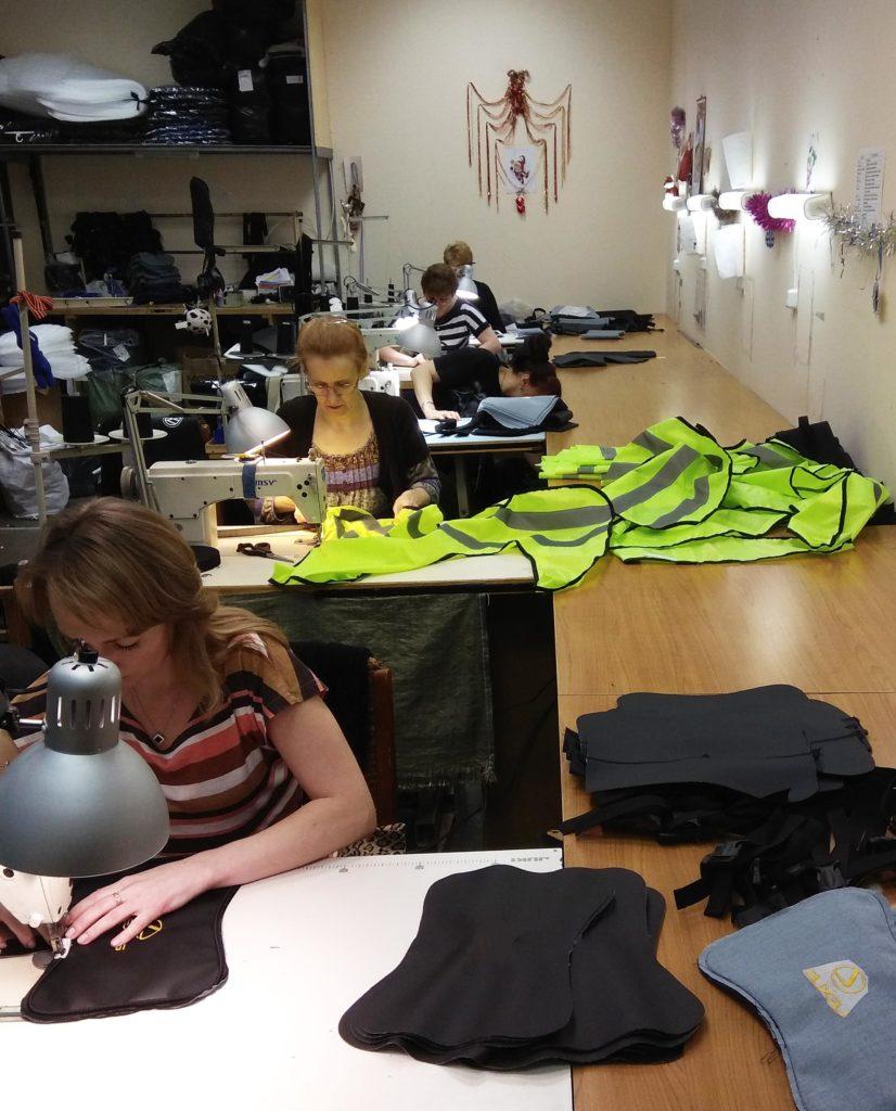 швейное производство на фабрики ООО Лорд